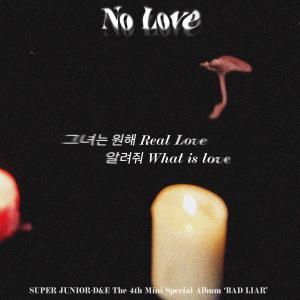 No Love - Super Junior D&E 歌詞和訳&カナルビ