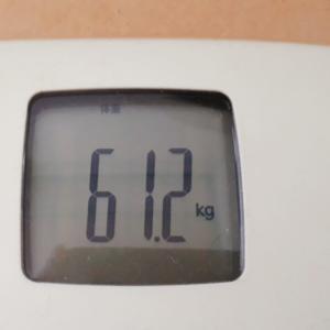 ゲームDEダイエット日記@61.2㎏ ダイエット意識してから一週間と変わらない体重