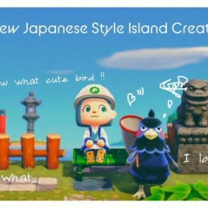 【あつ森】#5  絶壁に囲まれた滝の絶景を作る!新!和風島クリエイト