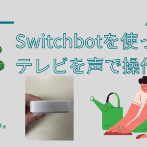 Switchbot ハブミニとGoogle Homeミニを連携して、声でテレビを操作できるようにする方法を解説