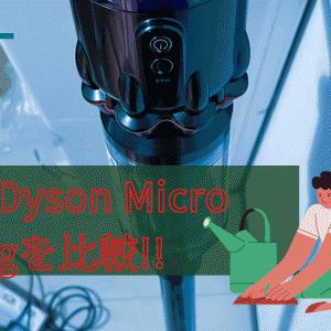 【2021】最新ダイソン マイクロ 1.5kg(SV21 FF)とV10、シャープ ラクティブエアを比較!!
