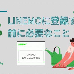 LINEMOに登録する前に必要なことを解説