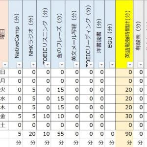 【TOEIC900点日記:勉強開始7週目(試験2ヶ月前)】年末は大忙し