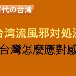 [1990年代の台湾] 台湾流風邪対処法