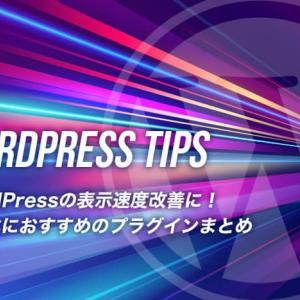 WordPressの表示速度改善に!高速化におすすめのプラグインまとめ