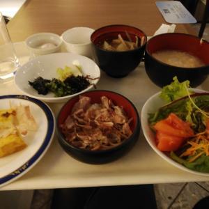 福井市・ホテルの朝食