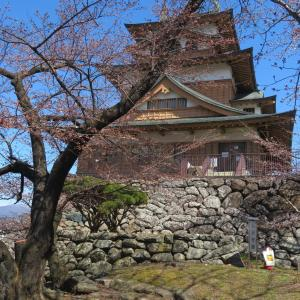 高島城と諏訪市
