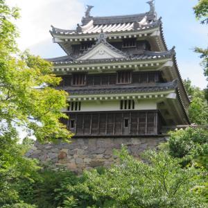 西尾城と城下町