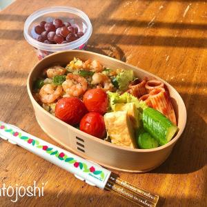 カレーピラフ弁当のおかずレシピ〜女子高生のお弁当箱のサイズ