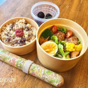 肉だんご弁当のおかずレシピ〜玄米の炊き方(圧力鍋)