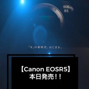 【Canon EOSR5】本日発売!!