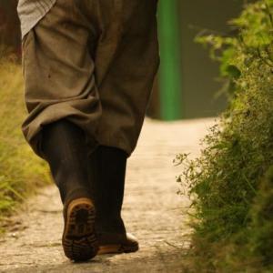 農作業には耐油長靴(白)がおすすめ