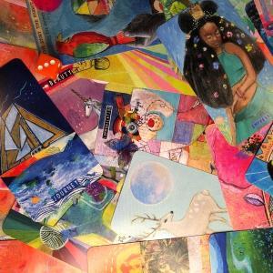 開封♪『Synchronicity』Oracle deck by Cathy Nichols