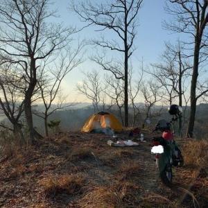 猟場探しついでのキャンプ