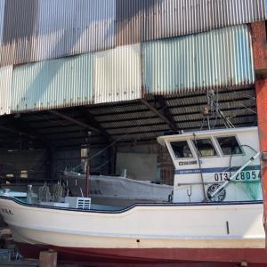 船の改修工事完了