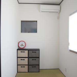 4畳の和室。注文住宅において和室はいる?いらない?乳幼児あり家庭の場合。