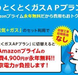 Amazonプライムをタダにする方法!年会費4,900円が永年無料!!東京電力が年会費を負担⁉