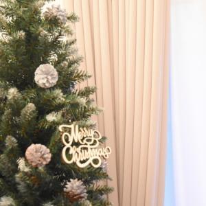 17畳LDKに210cmのクリスマスツリーは無謀?ツリーの選び方♪