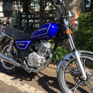 バイクを買ってしまった!-SUZUKI GN125H