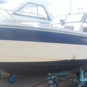船底塗装、オイル交換、うどん県タイラバ釣行