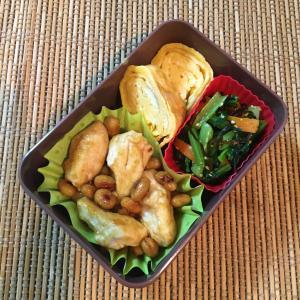大豆と鶏むね肉の照り焼き弁当&クローゼット整理でメルカリ出品♪