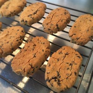 甘いものが欲しい時にすぐ出来る!ほろほろきなこちんすこう風クッキー