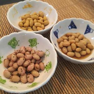 ついつい間食してしまう時に、お酢を使った簡単大豆のお漬物♪