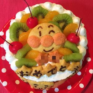 2歳になった娘が喜んだ手作り誕生日ケーキ♪