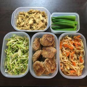 野菜&大豆をたっぷり使った作り置きおかず5品♪