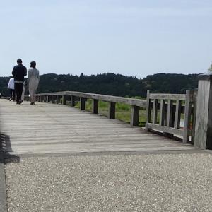 世界一長い木造歩道橋『蓬莱橋』