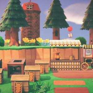 【あつ森】part18:自然区にグリーンショップと養蜂場を作る