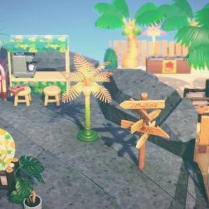 【あつ森】part19:自然区にビーチとビーチサイドカフェ&バーを作る