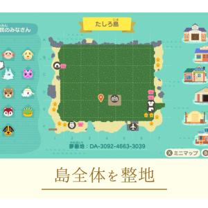 【あつ森】part1:島全体を整地する