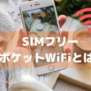 SIMフリーのポケットWiFiとは何か?SIMフリーのポケットWiFiのメリット・デメリット