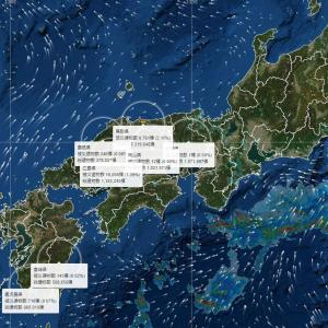 豪雨や台風や地震の被害をリアルタイムで予測するウェブサービス「cmap」