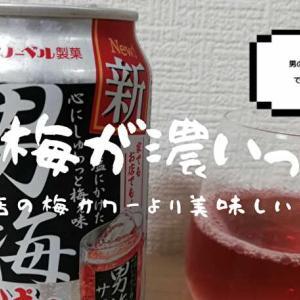 【梅の味が効いてる】男梅サワーはネタ商品じゃない   本格的な梅サワーです!