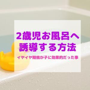 イヤイヤ期2歳お風呂に入りたがらない~我が家の対処法~