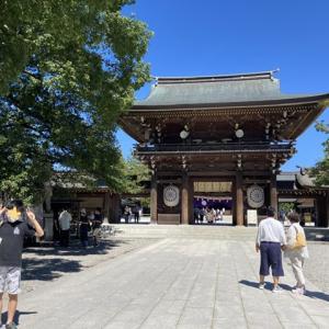 寒川神社にお参り