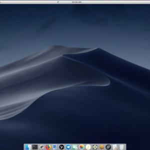 2020.06 Macオマージュで軽量なPearl Linux OS 9 qanon+を、Celeron搭載の ECS LIVE STATION LS-4-64で日本語起動