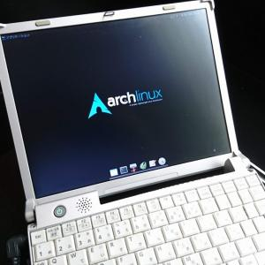 2020.08 Arch Linuxを、Core2Duo搭載のLet's note CF-R6にインストール