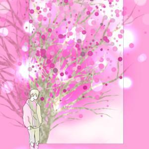絵で思うこととピンク色
