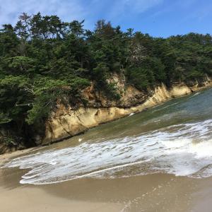 宮城奥松島の絶景!嵯峨渓探検、時々釣り(乙女の浜編)