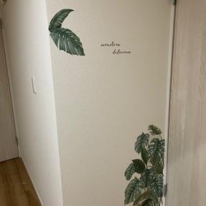 壁に空いた穴の補修