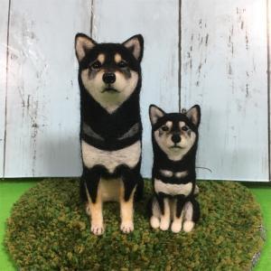 羊毛フェルト 柴犬 オーダーメイド