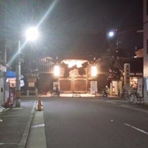 【なんでもないナンモリNo.9】灯りがともった大阪天満宮