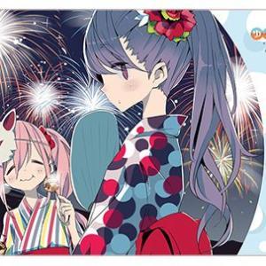 【サプライ】「ゆるキャン△」から『なでしこ&リン(浴衣ver.)』ラバーマットが登場 2021年1月発売 予約開始