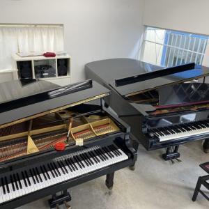 教室のピアノの調律をしました