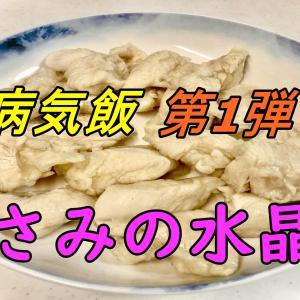 【病気飯】超ヘルシー!超柔らか!ささみの水晶鶏のレシピを紹介【タレのレシピも有るよ】