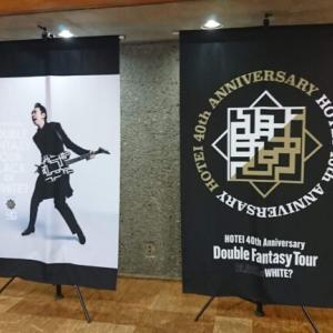 """布袋寅泰:HOTEI 40th Anniversary 〜Double Fantasy Tour〜 """"BLACK or WHITE ?"""" @サンシティ越谷市民ホール"""