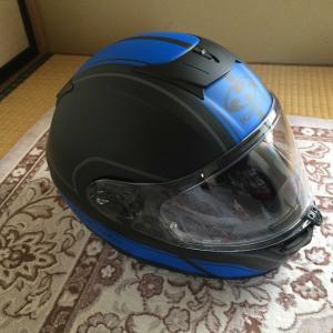新しいヘルメットが来ました。